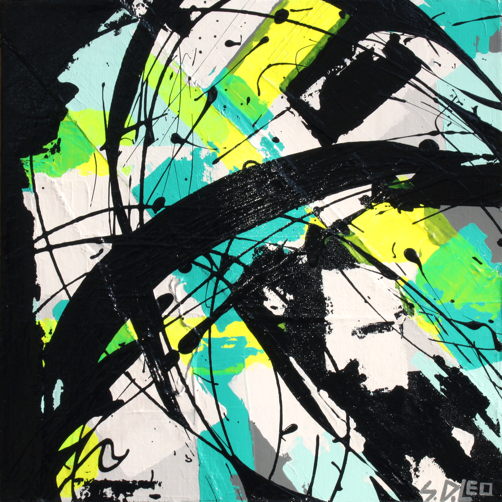"""renewal 12"""" x 12"""" acrylics on canvas available for purchase"""