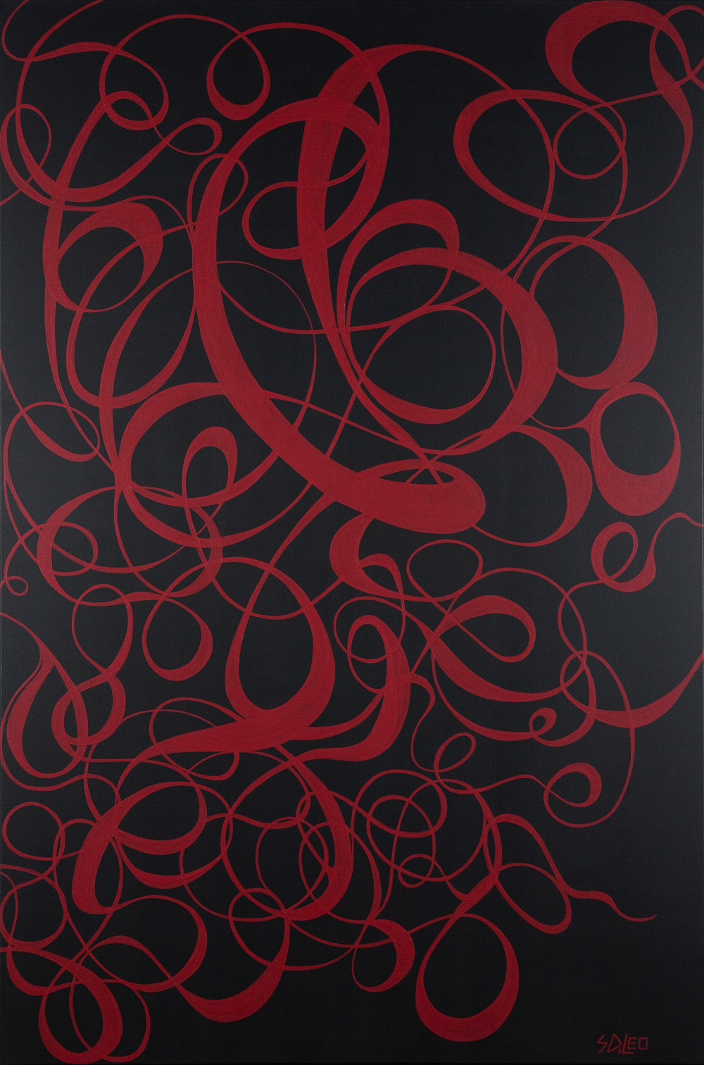 """pinot noir 48"""" x 72"""" acrylic on canvas available for purchase"""