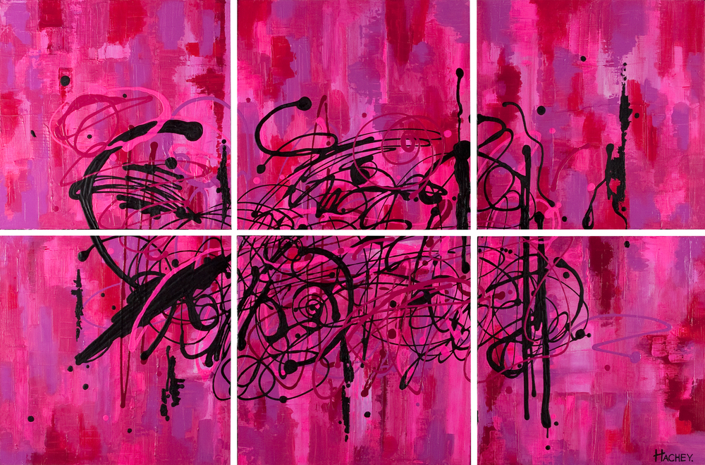 """valentine 60"""" x 40"""" acrylic on canvas available for purchase"""