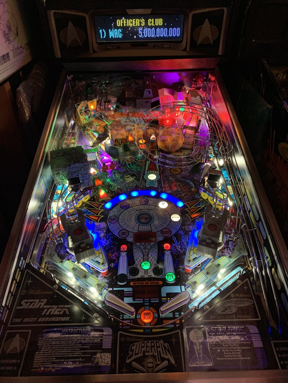 TALES OF THE ARABIAN NIGHTS PINBALL PLAYFIELD PROTECTOR NEW GENERATION