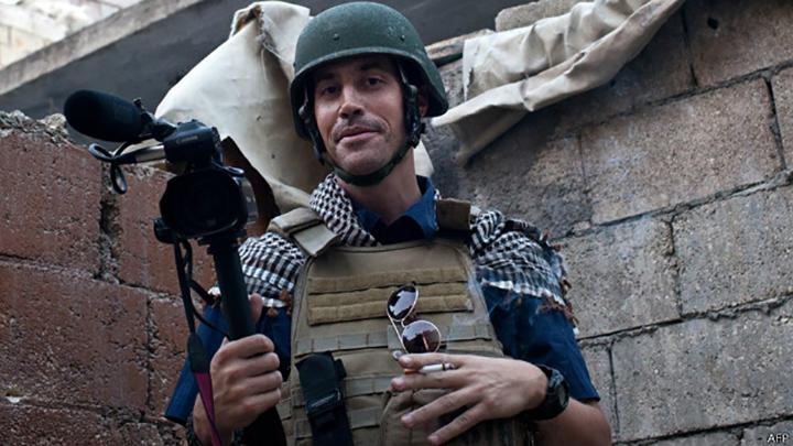 El video muestra la aparente decapitación del periodista estadounidense James Foley.