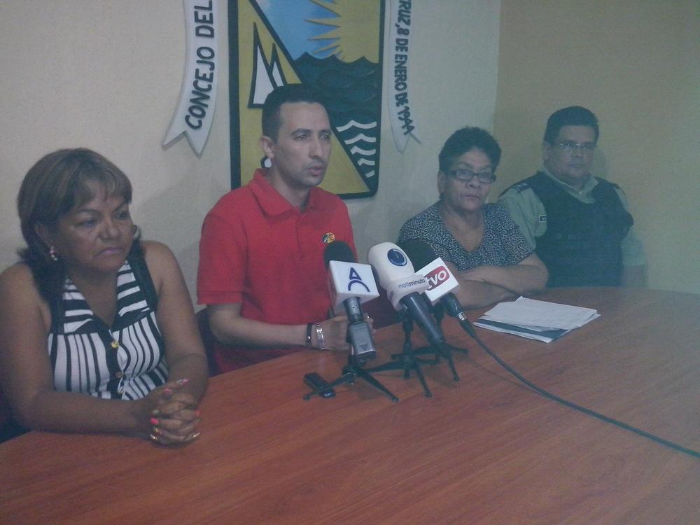 Foto:    Gerente del Abasto Bicentenario de Puerto La Cruz, Richard  Salloum  , exige medidas contundentes contra especuladores