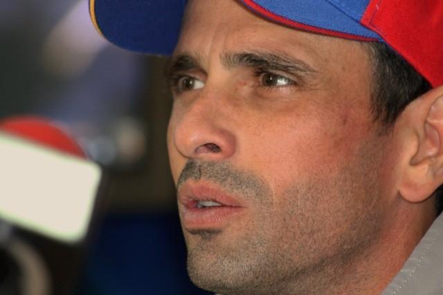 El líder opositor asegura que al gobierno no le importa la vida de los venezolanos.Foto: Archivo