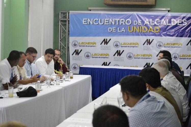Encuentro de Alcaldes de la unidad en Lechería