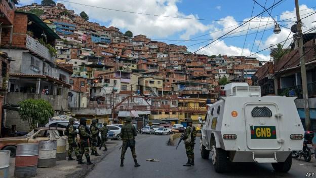 Venezuela es uno de los países con el mayor índice de violencia y delincuencia de Sudamérica. foto