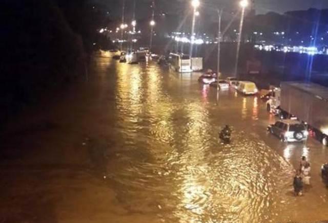 El Distrito Capital presentará precipitaciones de gran intensidad. Foto: Cortesía