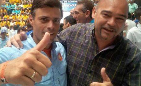 Leopoldo López y Julio Montoya | Foto: archivo