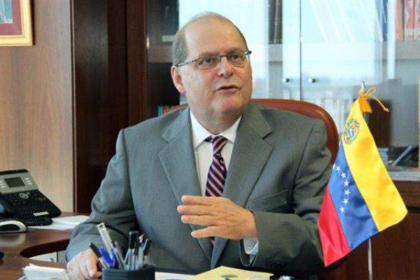 Bernardo Álvarez fue designado por el presidente Nicolás Maduro como el nuevo embajador permanente de OEA. Foto: archivo.