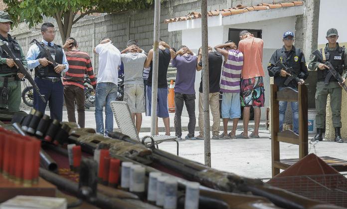 En Lara y Carabobo, OLP busca bandas criminales. Foto: archivo.