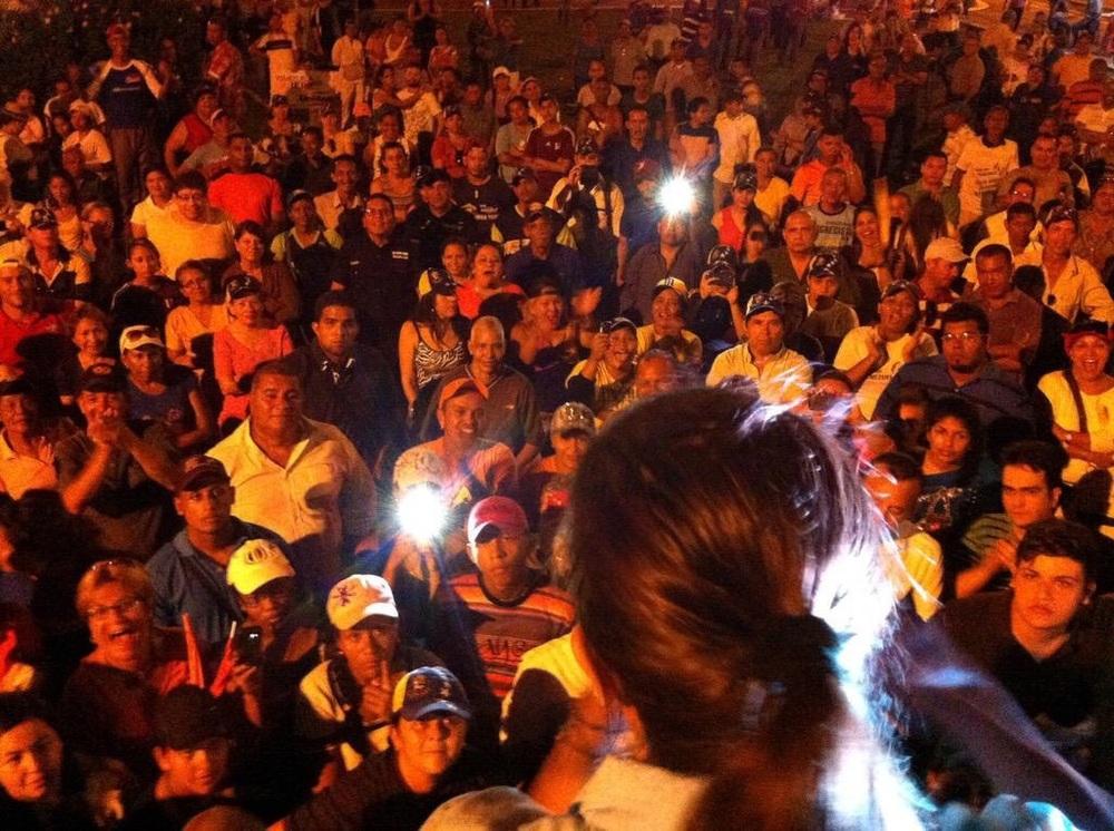 María Corina Machado realiza gira por el estado Monagas con candidatos de la unidad | Foto: cortesía