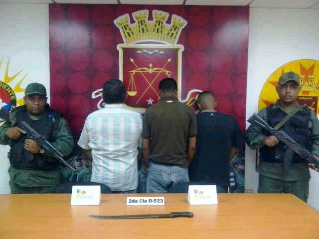 Los detenidos serán presentados en las próximas horas Foto: Archivo