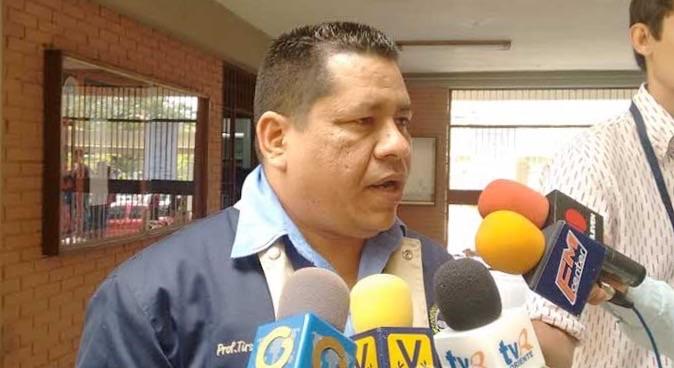 Tirso González, directive de Apudo | Foto: archivo