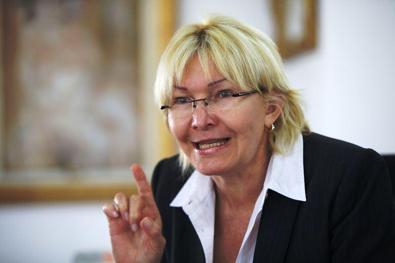 Luisa Ortega ofreció detalles sobre el video de Nieves Foto: Archivo