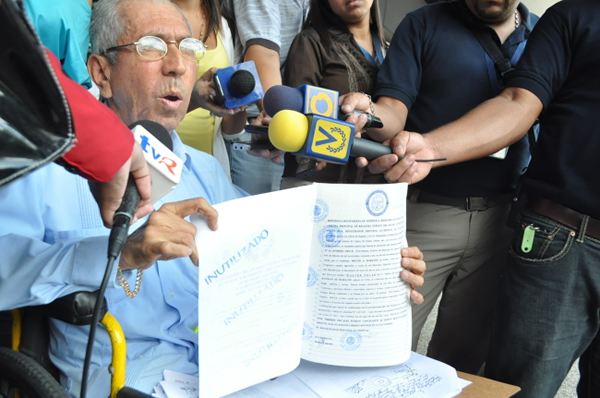 Por supuestos crímenes de lesa humanidad, denuncian a Maduro y Vielma Mora ante MP. Foto: archivo.