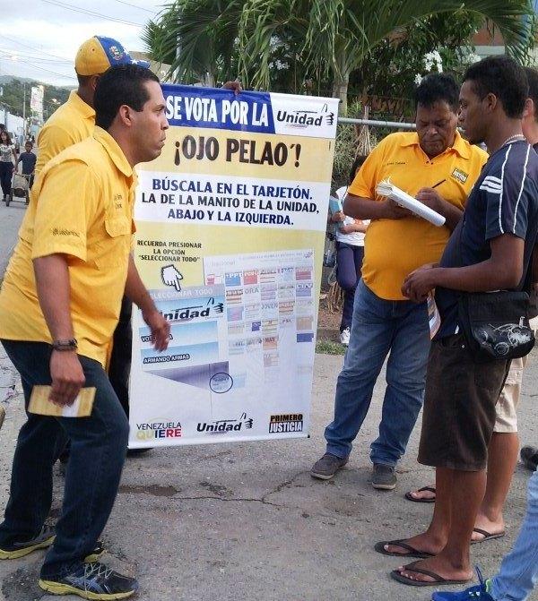 Continúa el proceso de dar a conocer la tarjeta de la Unidad Foto: Cortesía PJ Puerto La Cruz