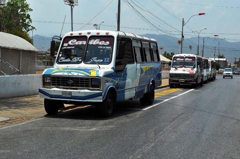 Continúan los problemas del transporte público en Anzoátegui Foto: Archivo