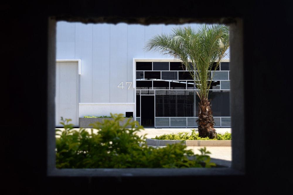 Vista de Galpón del Parque Industrial Aerocentro promovido por el empresario Constantino Bonaduce