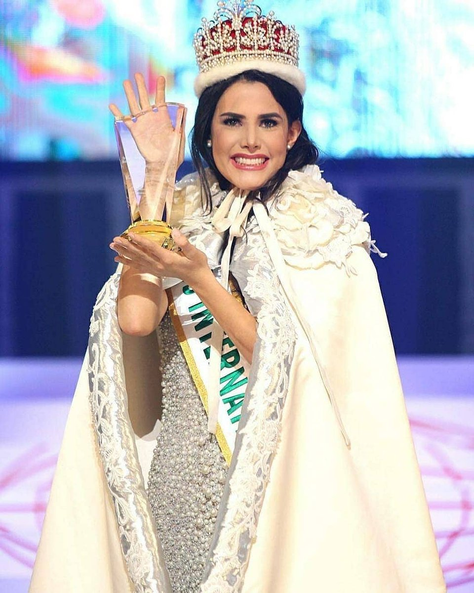 Mariem Velazco la nueva Miss International 2018