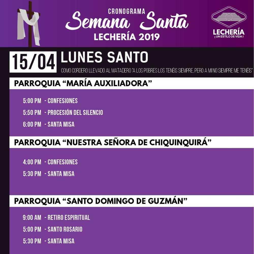Cronograma Semana Santa - Lechería 2019.1.jpeg