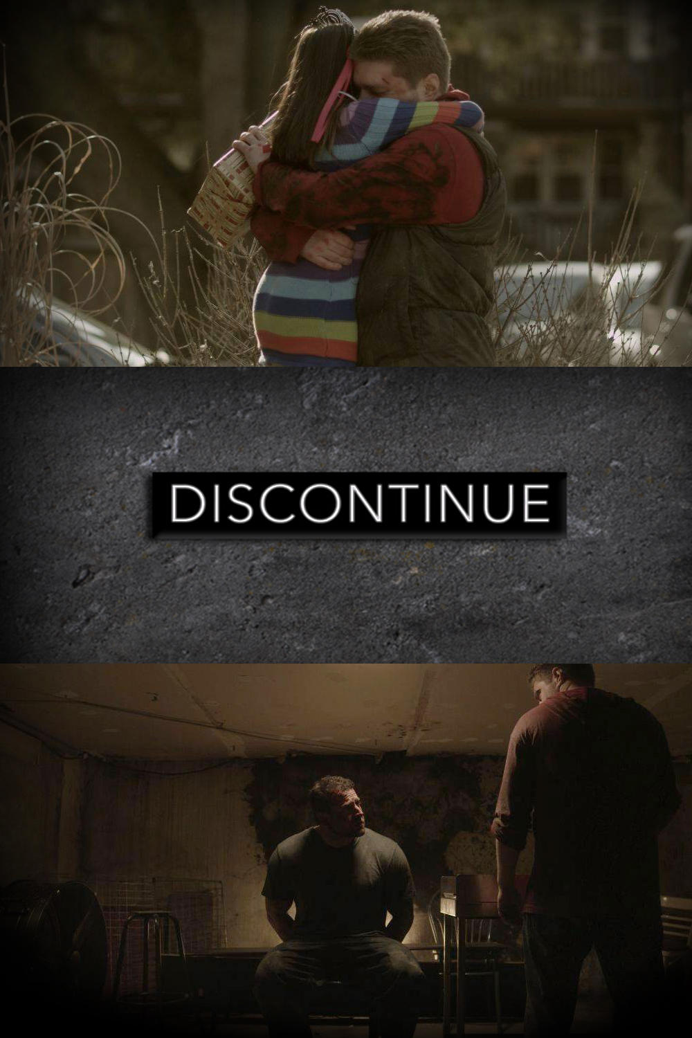 DISCONTINUE   In association with Gopher It Productions, Foster Films Canada is Co-Producing the original Television series DISCONTINUE.  Marcus Mills is a devoted family man and business owner. He also has a secret life as a ruthless contractor for the most powerful mob bosses in the city.    When his employers become involved in a gang war, Marcus must pick a side, while keeping his family safe - and in the dark.