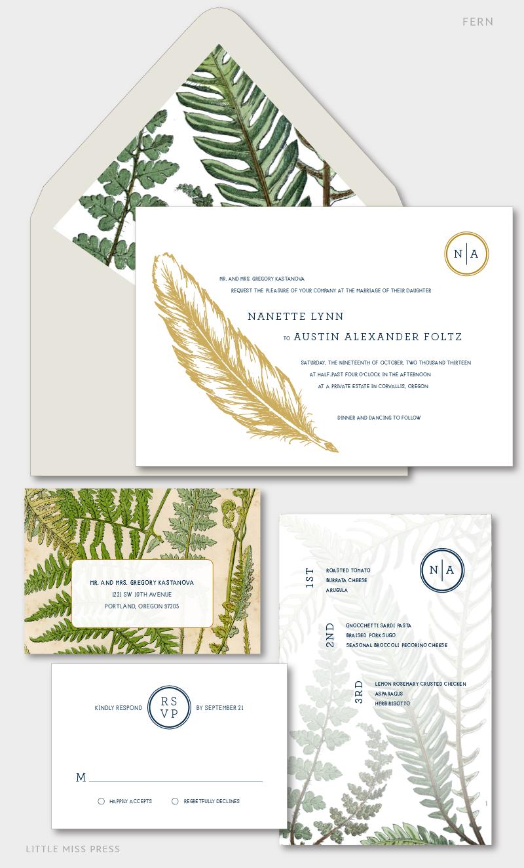 fern_feather_wedding_invitation