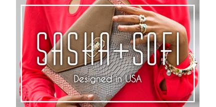 Sasha + Sofi Logo