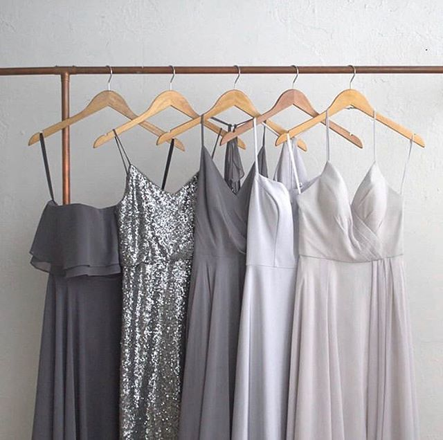 How cute are these bridesmaids dresses ✨ Which would you choose?! 📸: @brideside