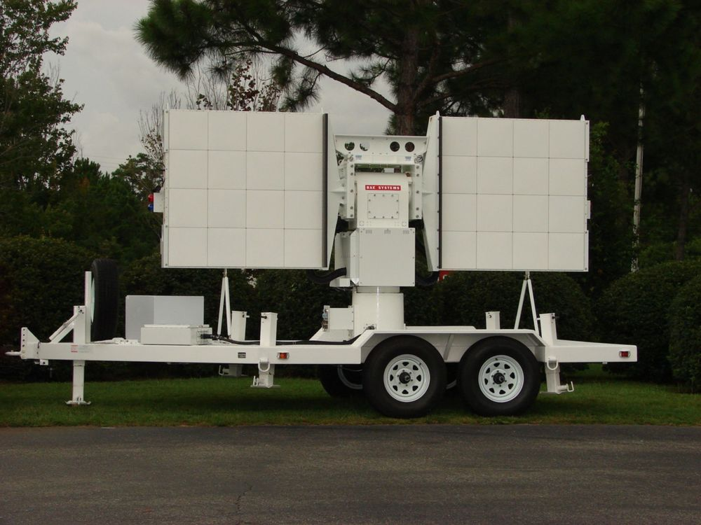 Transportable CW Doppler Radar System