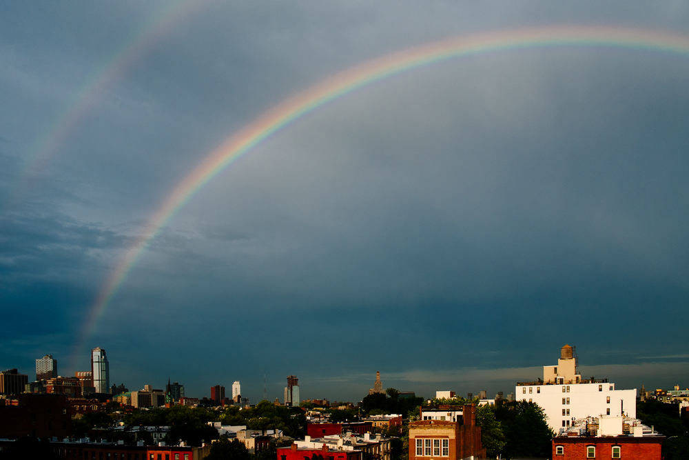 Brooklyn Double Rainbow