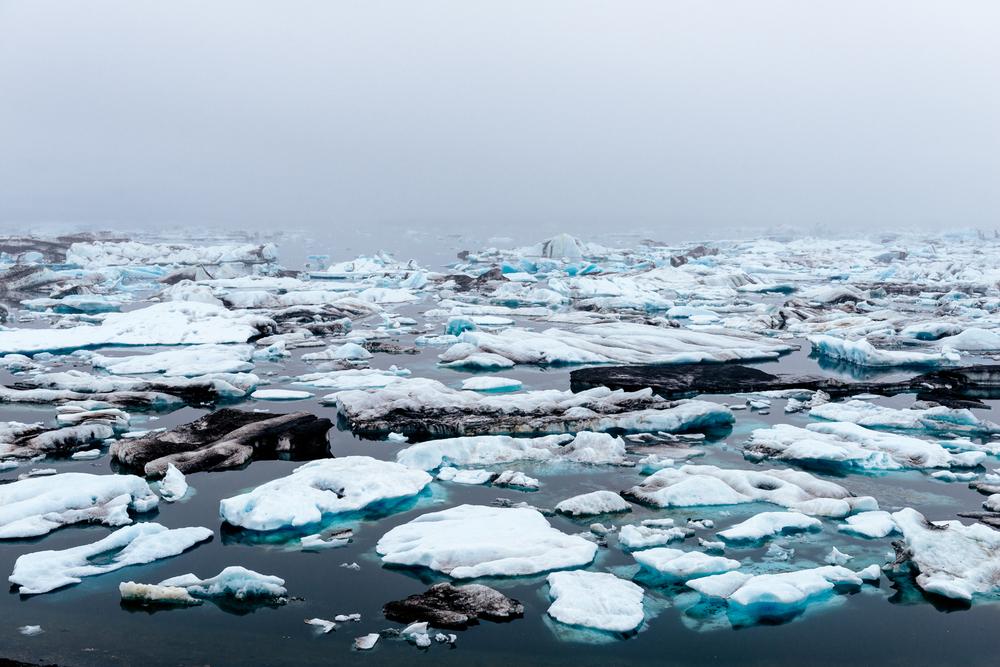 Jökulsárlón (glacial river lagoon)