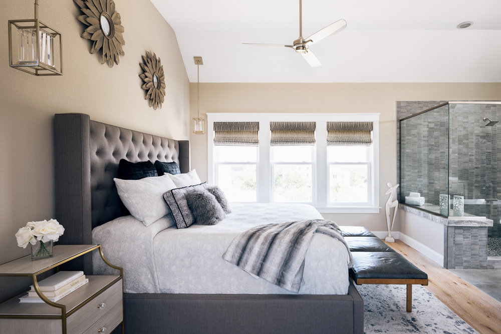 Outer Banks Modern Bedroom