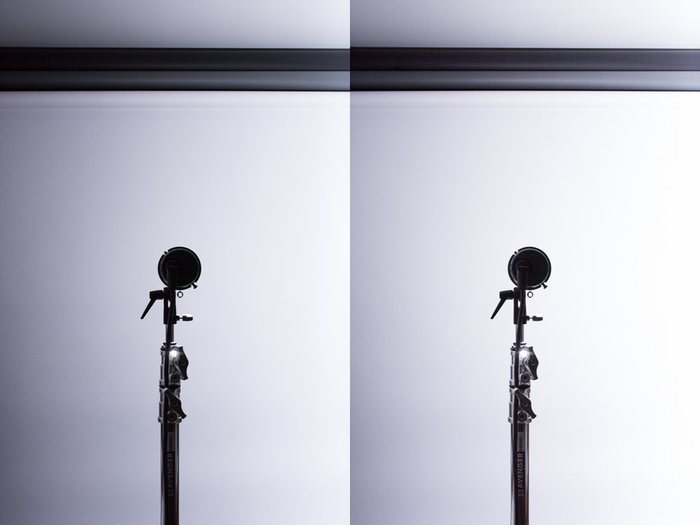 1/8000s - Quadra Pro Head @ Power Setting 2.7 - ISO boosted 4(left) and 5(right) stops.