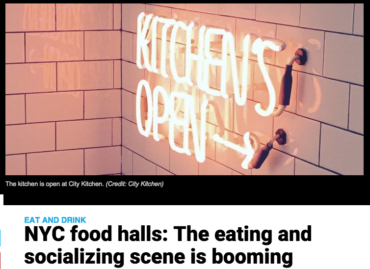 AM New York: NYC Food Halls: The eating and socializing scene is booming
