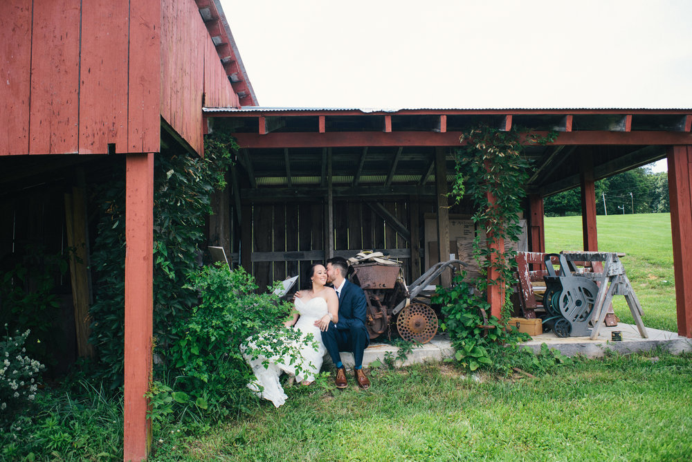 Lauren and Josh's Indiana Farm Wedding