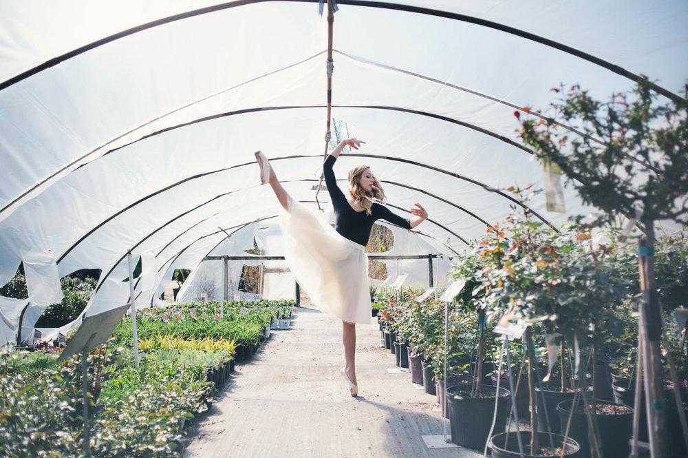 Lydia's Senior Ballet Portraits