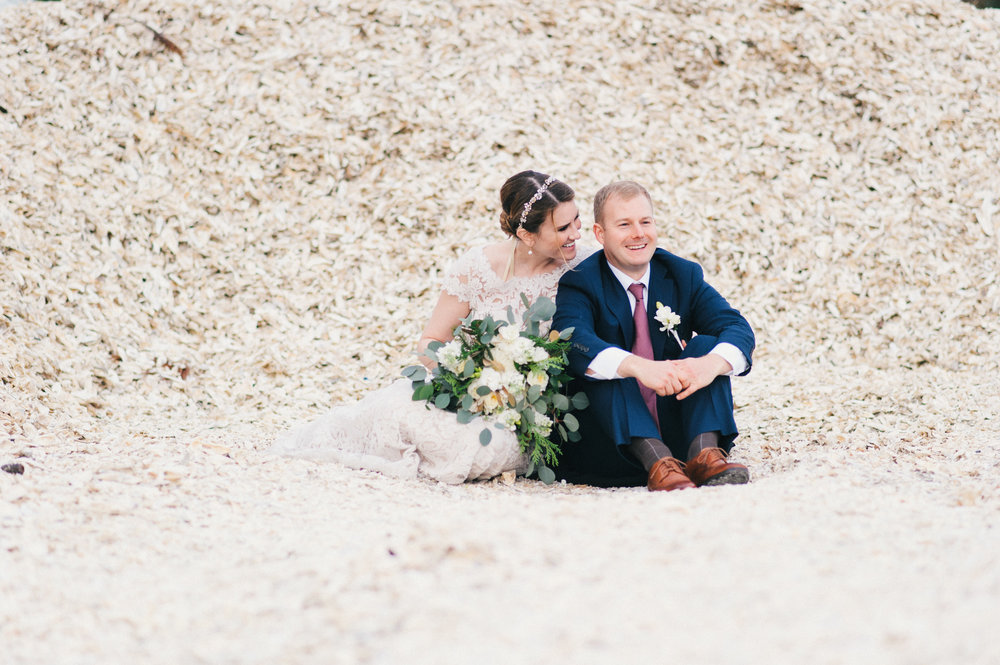 Emily and David's Daufuskie Island Wedding
