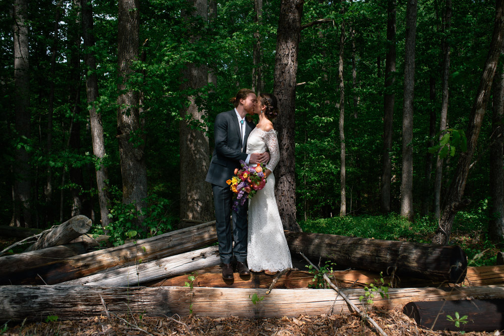 Maddie + Devin's Rustic Raleigh Farm to Table Wedding