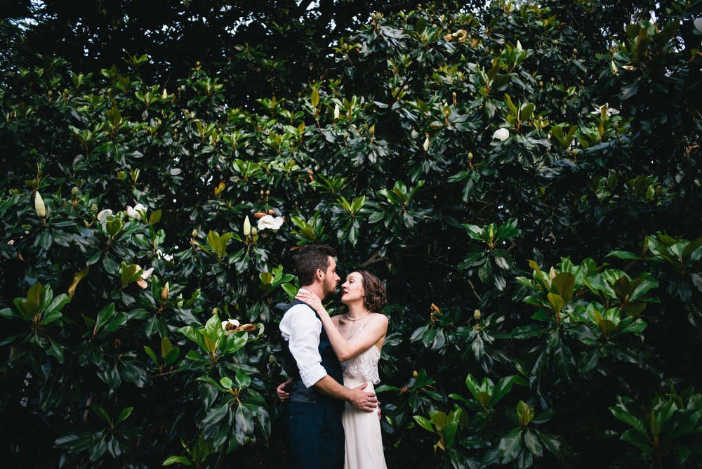 Tim and Lauren's Hot Springs, NC Magnolia Inn Wedding