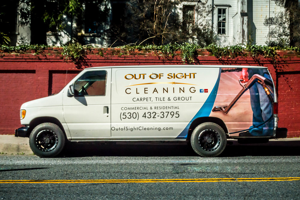Carpet Cleaning Van in Auburn