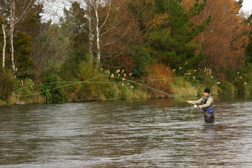 Fly Fishing Behind the Creel