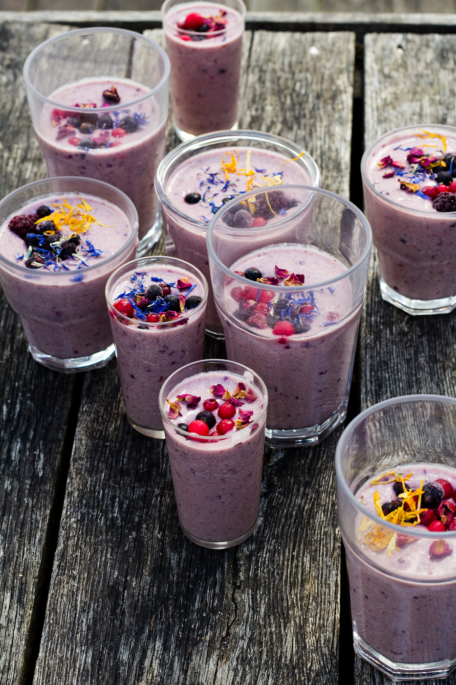 Shiso Delicious Pink Berry Buckwheat Smoothie