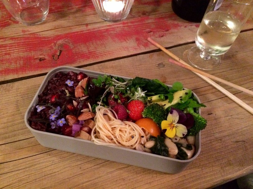 Beautiful bentos made on the night