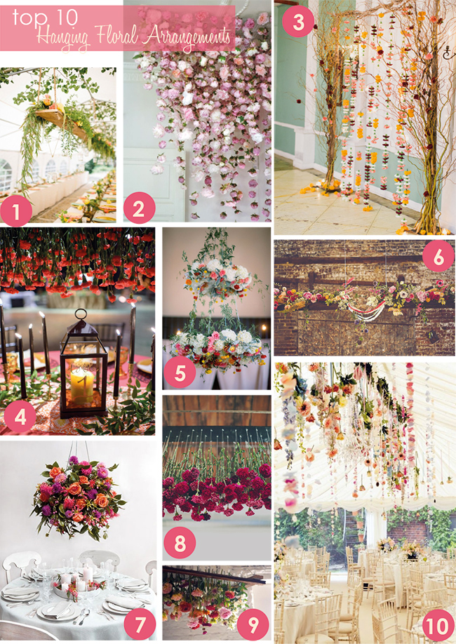 top 10 hanging floral arrangements i love love - Picture Hanging Arrangements