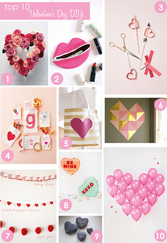 top 10 valentine diy projects i love love