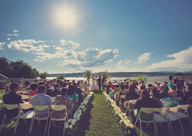 Five hudson valley wedding venues with river views i love love the rhinecliff junglespirit Images
