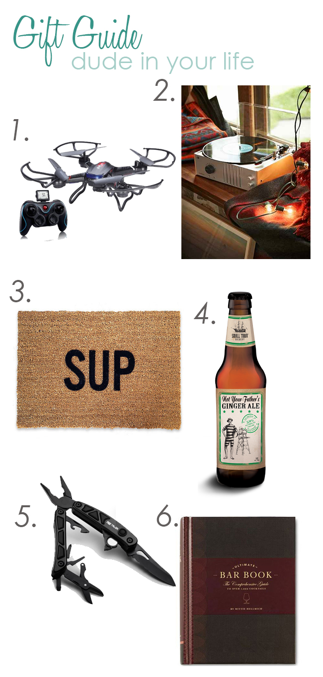 Dude Gift Guide