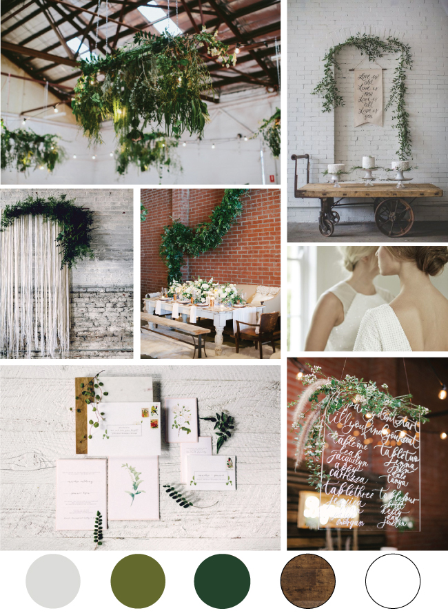 I Love Love Events Mood Board // Clean Slate