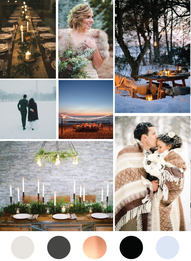 Winter City Wedding