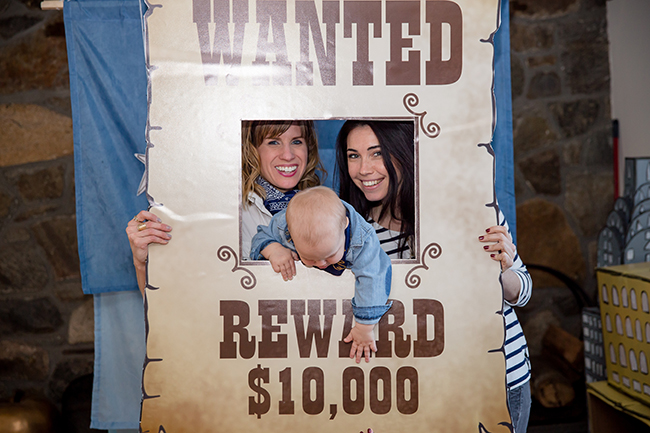Wanted Photo booth cut out