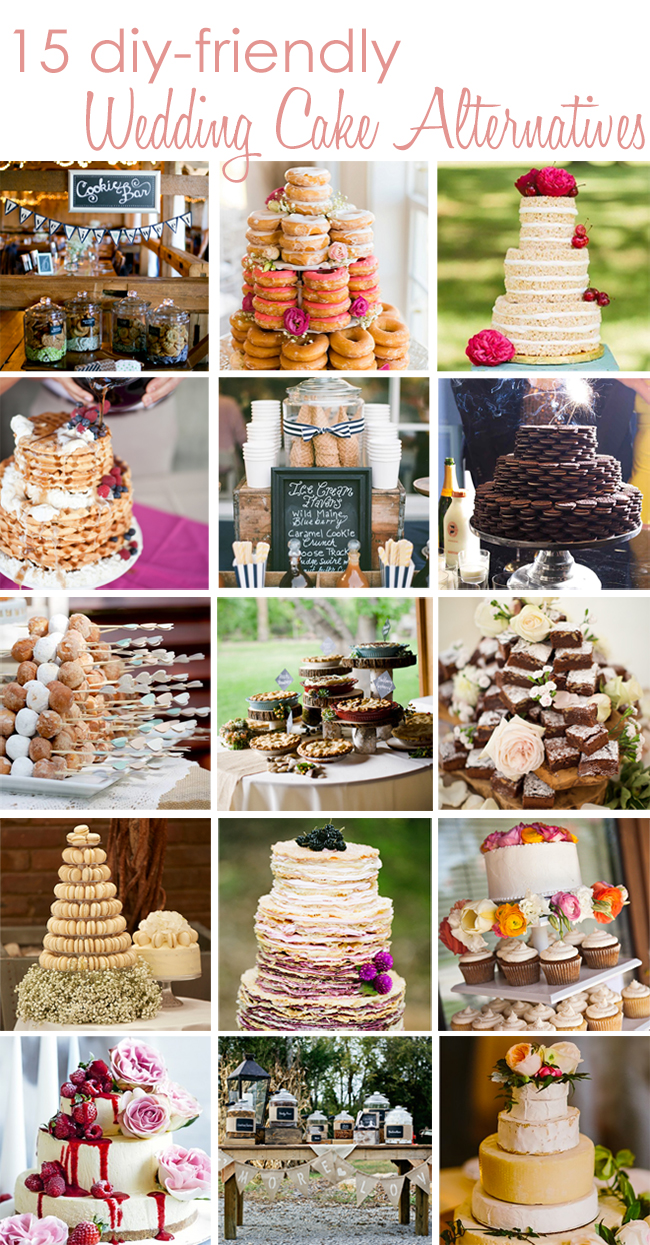 Wedding Cake Alternatives